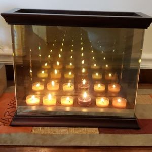 PartyLite Accents - Partylite Infinite Reflections tealight holder